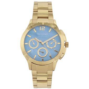 64566857c544 Compra Reloj Para Dama Marca TEMPUS Dorado SM-0149-GAZ online ...