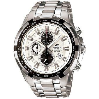 af47636eb8e0 Agotado Reloj Casio Edifice EF-539D-7AV Analógico Hombre - Plateado y Blanco
