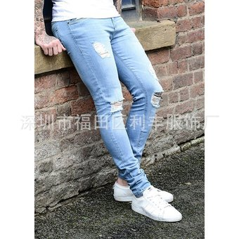 087bb03f34935 Compra Pantalones De Mezclilla Para Caballero Jeans Hombre-azul ...