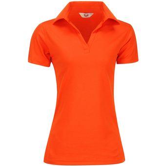 Playera Dama POLO Dry FIT Mujer Dacache Uniforme Empresarial Ejecutivo  Oficina Color-Naranja 8d97a83d87ca2