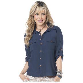9451608edf Camisa Adulto Femenino Marketing Personal 53929 Azul