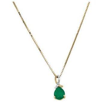Compra Dije Con Cadena Oro 14k Cristal Joyas online  7e9e39753a7