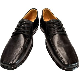 99ea0c1de54 Compra Zapatos Colegio Cuero Negro Colegial Niño Niños Hombre online ...