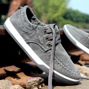 Denim Verano Compra Casual Thinker Zapatos Lavados De Lona Para E fXwgFwq