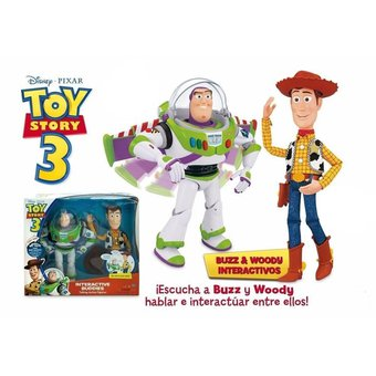 Figuras De Acción Electrónicas Toy Story Buzz Y Woody - Multicolor 1227e8cd223