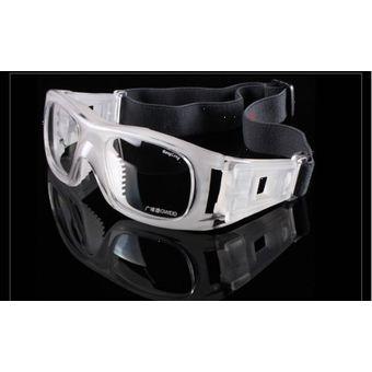 af4bb387d2 Agotado Gafas Protección Deportes de Contacto Futbol Basket Lente Formulado  - Clear/Transparente