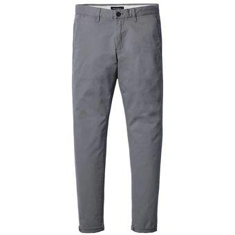 824d3391b Hombre Pantalones Largos Casual Simwood Tailun-Cool-Caqui Gris