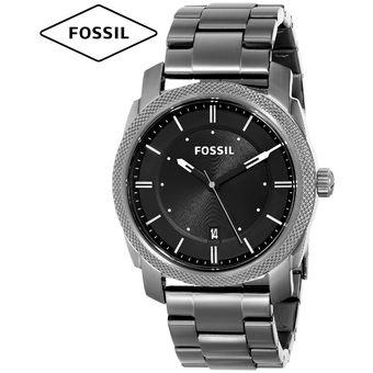 2cb2caa8a94a Compra Reloj Fossil Machine FS4774 Acero Inoxidable Fecha - Gris ...