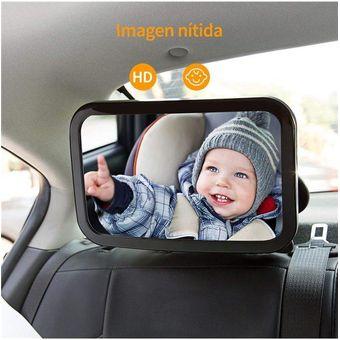 Compra Espejo Retrovisor Para Auto Gran Tamano Seguridad Bebe Online