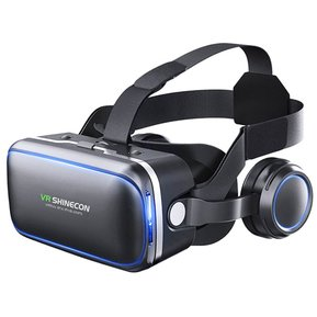 afc2be5c41 2017 NUEVOS Lentes Realidad Virtual 3D VR Box Auriculares + Controlador +  Auricular + GamePad Del