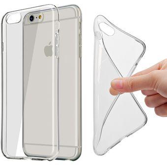 078fb1aead6 Compra Carcasa Funda Silicona Iphone 6 Slim Transparente online ...