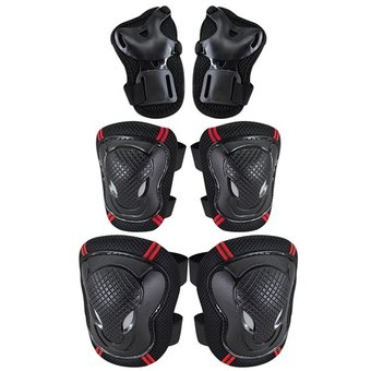 Set De Protección Rodilleras, Coderas Y Muñequeras Para Deportes