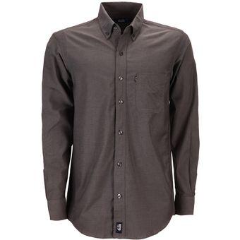 Color Hombre Oficina Larga Empresarial Manga Ejecutivo Oxford Plomo Hombre Camisa Uniforme UwzOxnwH