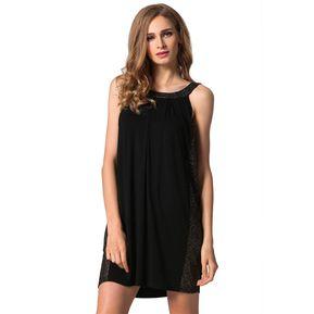 Vestido Yucheer de Fiesta Halter Hombro Descubierto para Mujer-Blanco 59c7288f0a25