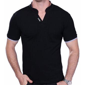 e89966b5de Compra Camisetas Hombre Playeras Manga Corta Polo T-Shirt Caballero ...