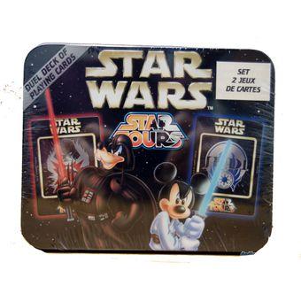 Compra Star Wars 2 Juegos De Cartas Naipes Disney Online Linio Peru