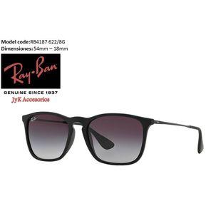 Gafas de sol Ray ban® Chris Rb4187 Negra Polarizada 54mm Originales 9b856d108c