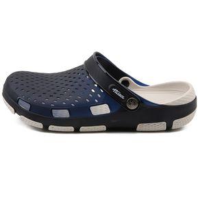 a30ab895 Sandalias de gelatina de verano para hombres Crocs sandalias hombre cuero