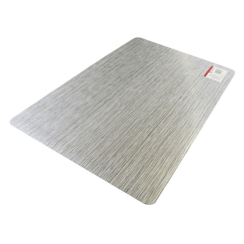 Mantel Individual PVC Laminado Rallas Plata SM-436997 Namaro Design b32723fc6f06