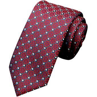 Compra Nioworld Hombres Accesorios De Punto Clásico Corbatas-Rojo ... 1fe1e683246