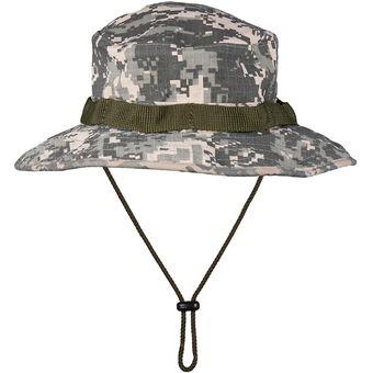 diseño profesional entrega gratis fecha de lanzamiento Sombrero táctico militar camuflado tipo junglero ACU Digital pixelado