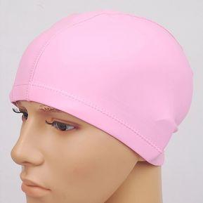 Adulto Impermeable PU Revestimiento Elástico Swimming Cap Mantener El Pelo  Largo Servicio De Protección Auditiva Swim a72e822fa7f