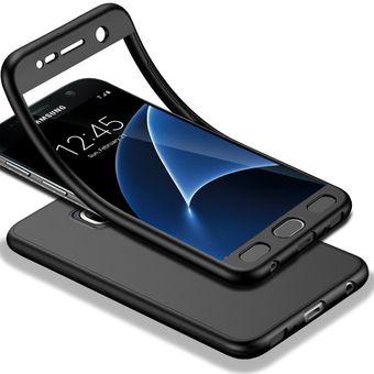 376d5a2c3c1 Compra Funda De Completo Protección Para Samsung Galaxy S7-Negro ...