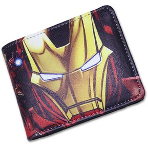 f8c448756 Billetera Iron Man Marvel Cómics Cuero Sintético