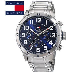801018d1a5c3 Reloj Tommy Hilfiger Trent 1791053 Multifuncional Acero Inoxidable -  Plateado Azul