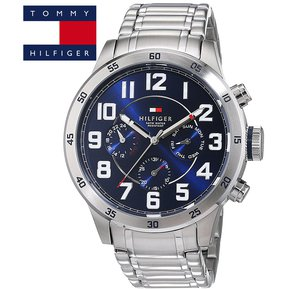 062537445e88 Reloj Tommy Hilfiger Trent 1791053 Multifuncional Acero Inoxidable -  Plateado Azul