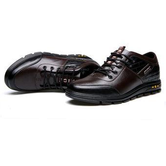 Para Zapatos Blando Con Hombre Marrón Plantilla k80nOwP