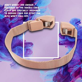 958ef6719781 EH pulsera recambio acero 210mm para fitbit alta reloj inteligente