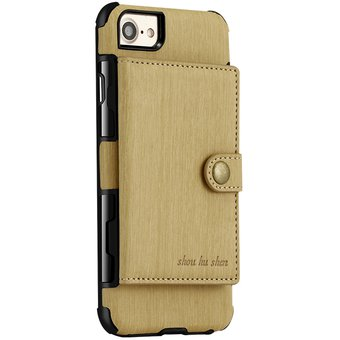 21b1db2c4a9 Compra Funda De Billetera Ecocuero Para IPhone 6s/iPhone 6-Amarillo ...