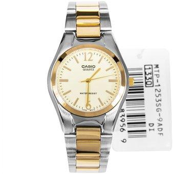 53795bb23c52 Compra Reloj Casio MTP 1253SG 9A - Plateado con Dorado online ...