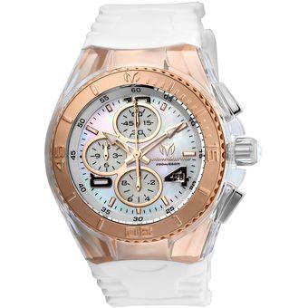 b6aa1f1f7a67 Compra Reloj Technomarine Cruise TM-115310 Blanco Mujer online ...