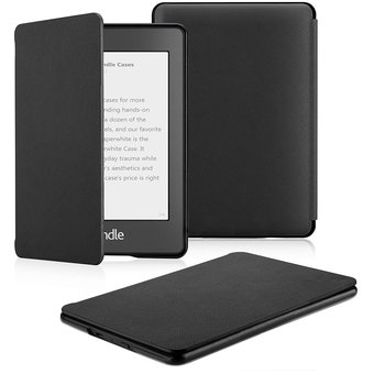 Funda Microfibra Fibra Kindle Paperwhite Waterpoof Negro