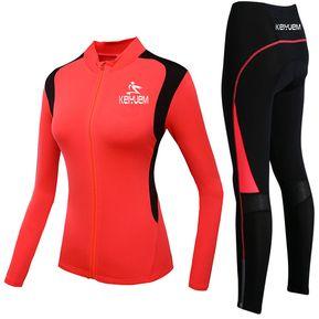 Transpirable Ciclismo Ropa De Mujeres Ropa Del Equipo Deporte Jersey  Respirables Manga Corta Un Treje Roja 0b823db0eebe0