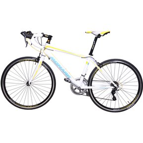 Bicicleta Monark Bolt Expert Aro 700c-Blanco Con Amarillo ed841033636