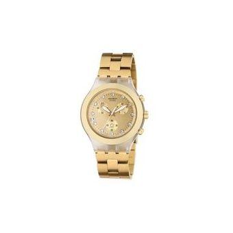Compra Reloj Swatch One Thousand And One SVCK4084G Para Dama-Dorado ... a8bab7753d34