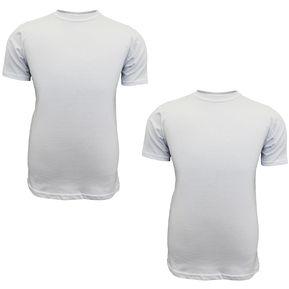 Camiseta Hombre X2 Cuello Redondo - 100% Algodón SIABATTO 979e9fcf938