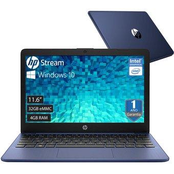 Laptop Hp Stream 11 Celeron 32gb Ram 4gb Win10 Azul