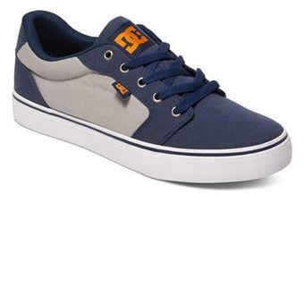 Compra Zapatillas DC Shoes Anvil Tx Para Hombre - Azul Y Plomo ... 0732d2ec85b