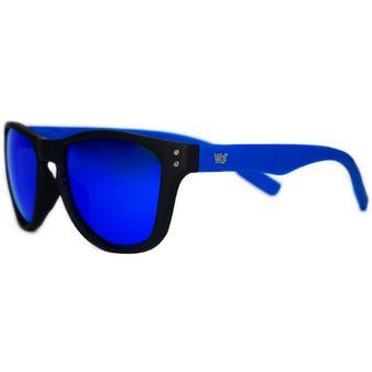 7a1d7774c0 Compra Gafas De Sol Unisex Wizz Modelo Wayfarez Color Azul. online ...