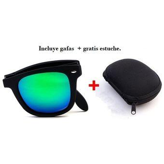 ddf1053ff3 Compra Gafas De Sol Plegables Portátiles Viaje Playa + Estuche ...