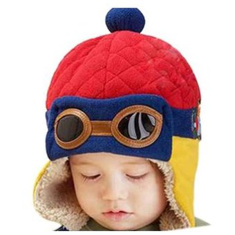 Compra Gorro Polar Piloto Aviador Para Bebe Y Niño - 6 Meses A 3 ... d99dd5ec7d6