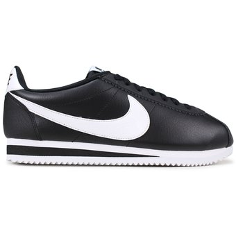 6312bd4e022 Compra Tenis Running Mujer Nike Classic Cortez Leather-Negro online ...