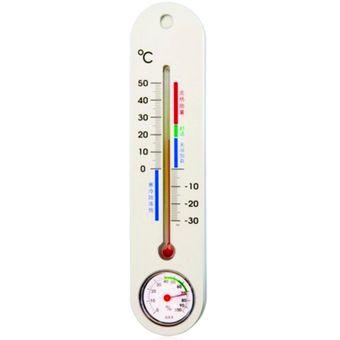 Compra termometro e higrometro ambiental de pared online linio colombia - Termometro de pared ...