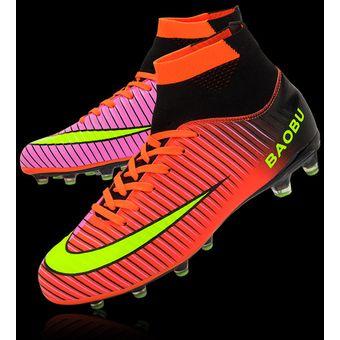 Compra Zapatillas hombre de fútbol con clavo largo y colores ... 0f6856385fd0a