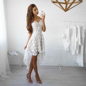 b0860d080d Modas de vestidos en ojalillo blanco – Vestidos baratos