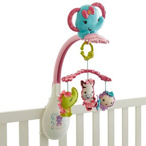 Movil Para Bebes 3 En 1Fisher Price Colgantes - Rosado a65387fc071f